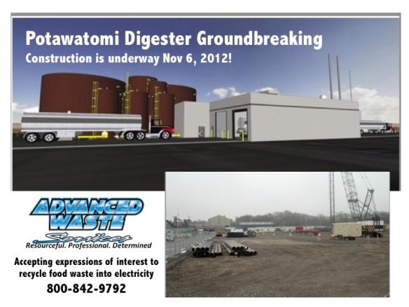Potawatomi Digester Groundbreaking