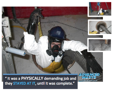 Confined Space Pit Cleaning