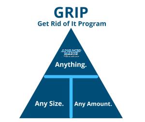 Get Rid of It Program #GRIP