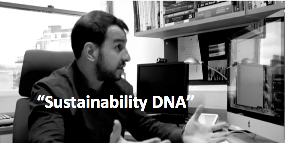 Professor Ioannou talks about sustainability DNA