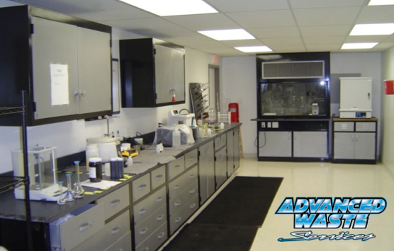 Our onsite lab at our Portage Indiana location allows us to eliminate the environmental risks associated with industrial wastewater treatment.