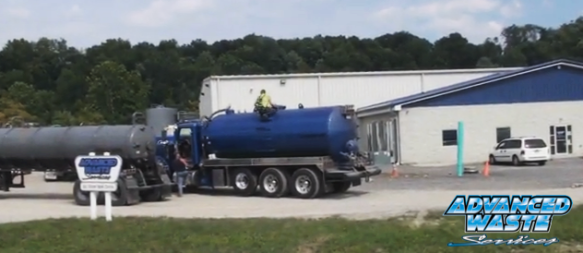 Sample pulled from tanker truck