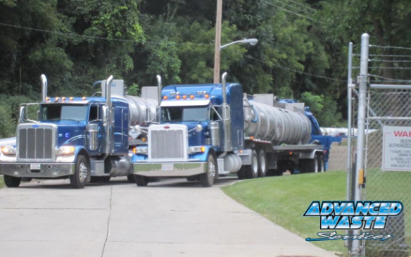 Industrial Wastewater treatment tanker trucks