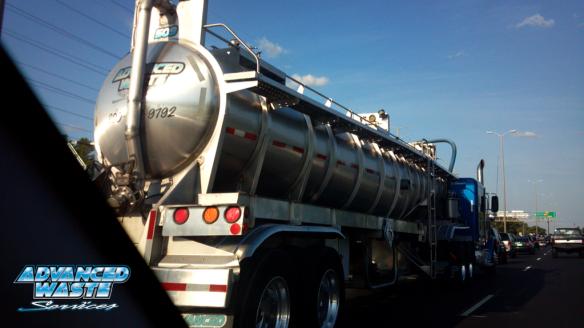 Liquid Waste Truck