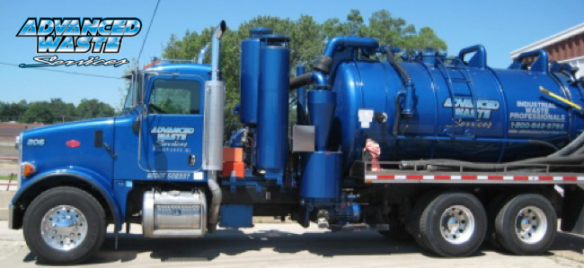 Advanced Waste Services Hi-Vac Truck