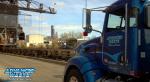 Vacuum Truck in Chicago skyline.