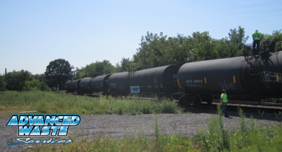 A railroad spur is adjacent to our New Castle PA facility.